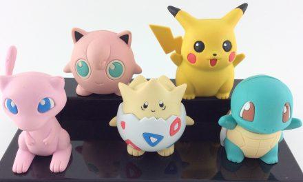 Vintage Erasers: Banpresto Pokemon