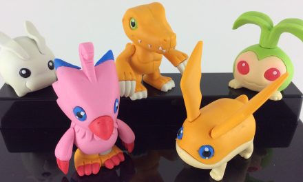 Vintage Erasers: Banpresto Digimon