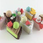 Re-Ment Gurashi Cake Erasers