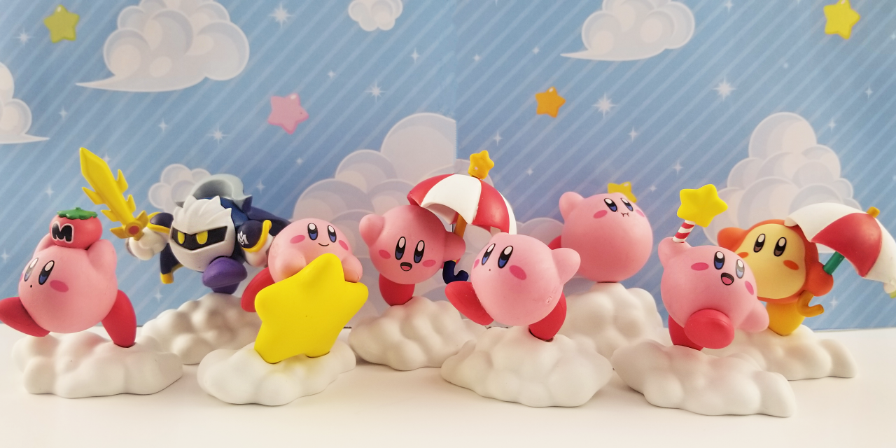Re-Ment Kirby Erasers Review