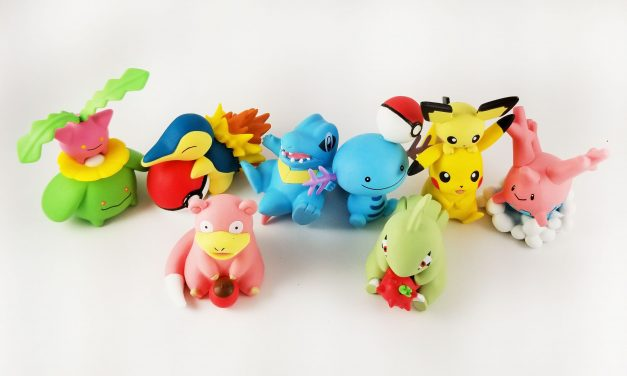 Re-Ment Pokemon Big Erasers Series 3